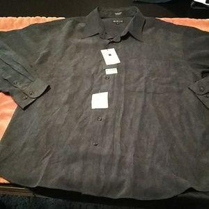 Long sleeve button down kaid shirt